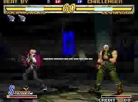 Garou MOTW good match: Rock vs Kevin Video