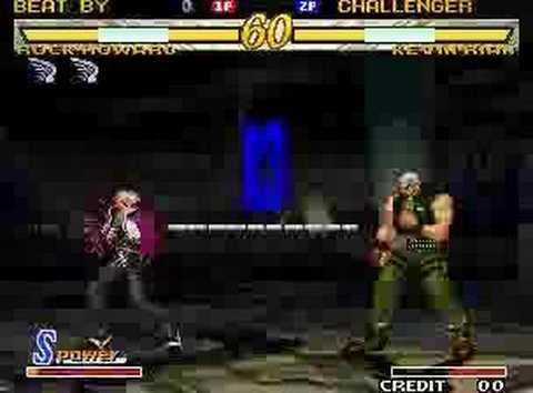 Garou MOTW good match: Rock vs Kevin Video