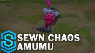 Sewn Chaos Amumu Skin Spotlight - Pre-Release - League of Legends