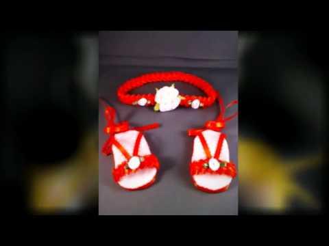 Sandalias hechas en foami - Imagui