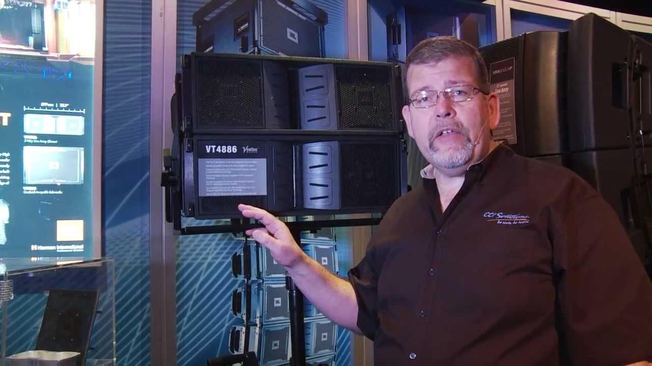 Jbl Vertec Vt4886 Line Array Speakers In Depth Review