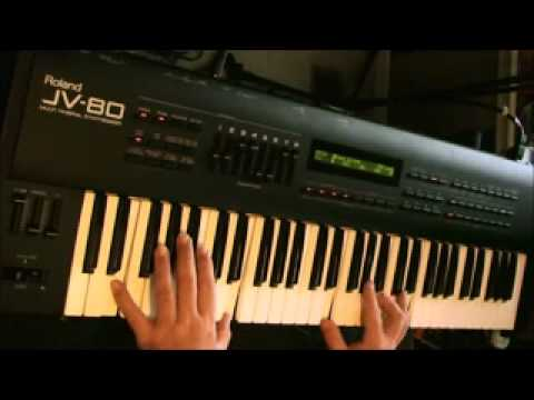 """""""Piano and Strings"""" Roland JV80"""