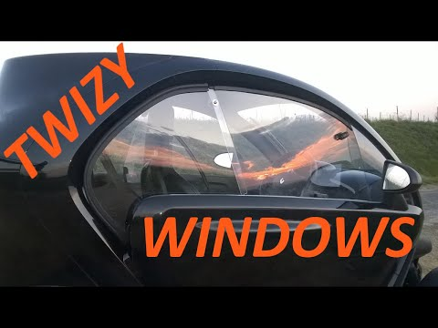 Renault Twizy : Axis V2 windows / Vitres Axis V2