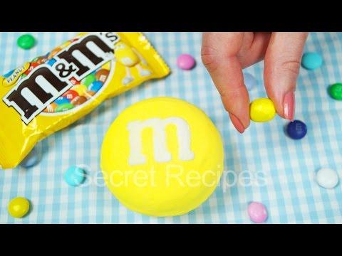 ГИГАНТСКИЙ M&M'S. КАК СДЕЛАТЬ НАСТОЯЩУЮ КОНФЕТУ M&M'S (ЭМЕМДЕМС) | REAL M&M'S