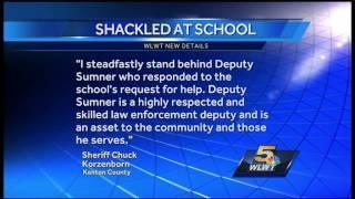 Kenton Co. sheriff supports deputy who handcuffed kids