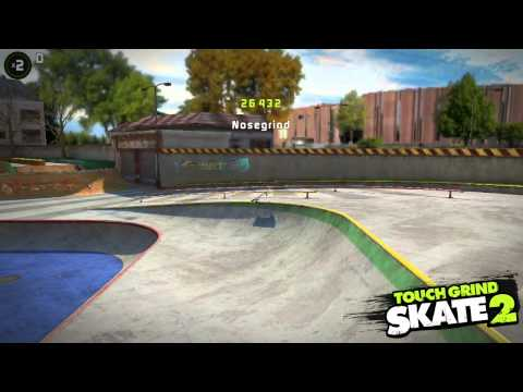 Touchgrind Skate 2: Where to do 7 seconds rail time challenge