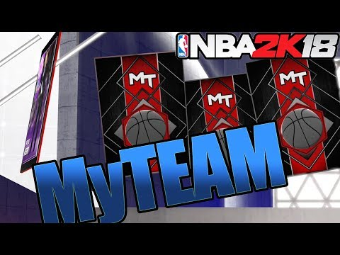 NBA 2k18 MyTEAM Pack Opening - I Pulled an Amethyst Card! League 20 Pack Box