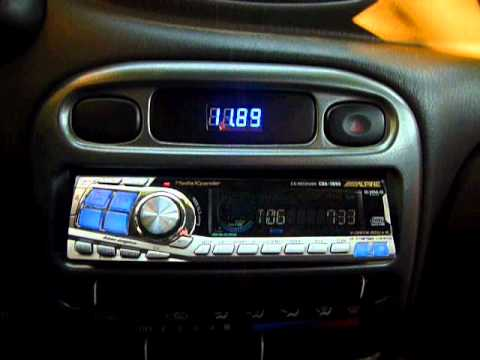Hyundai Accent 1998 Digital Voltmeter Center Console Youtube
