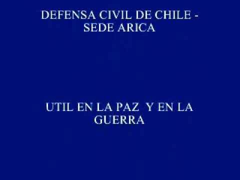 PROMESA DE SERVICIO  DEFENSA CIVIL DE CHILE SEDE ARICA.wmv