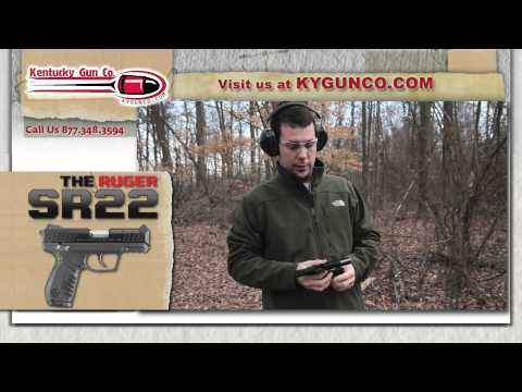 Ruger SR22 Pistol Review and Range Test