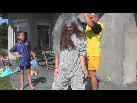 Ice Bucket Challenge - Justyna Szabłowska - Nominacja od Sebastiana Szabłowskiego - Dzięki
