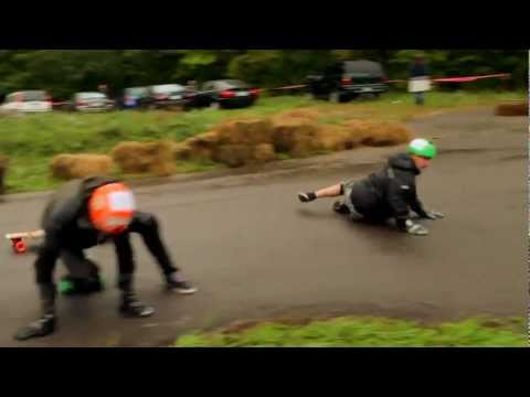 Autumn BOMB II 2011 Teaser ** Longboard downhill Race and freeride