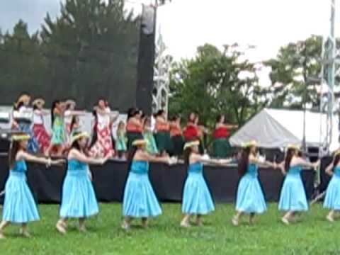 泉区民祭り フラダンス