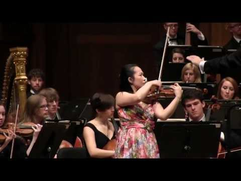 Wen-Lei Gu plays Bartok Second Violin Concerto