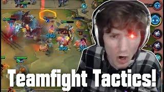 Hashinshin plays TEAMFIGHT TACTICS! Gnar and Draven broken in TFT?