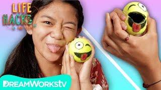 Emoji Tennis Ball Pouch   LIFE HACKS FOR KIDS