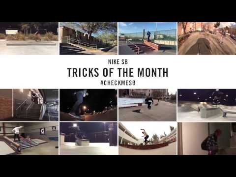 Nike SB | #CheckMeSB | February Tricks of the Month