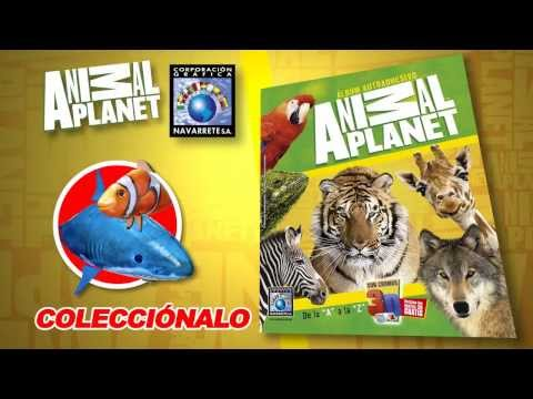 Album autoadhesivo Animal Planet 3D