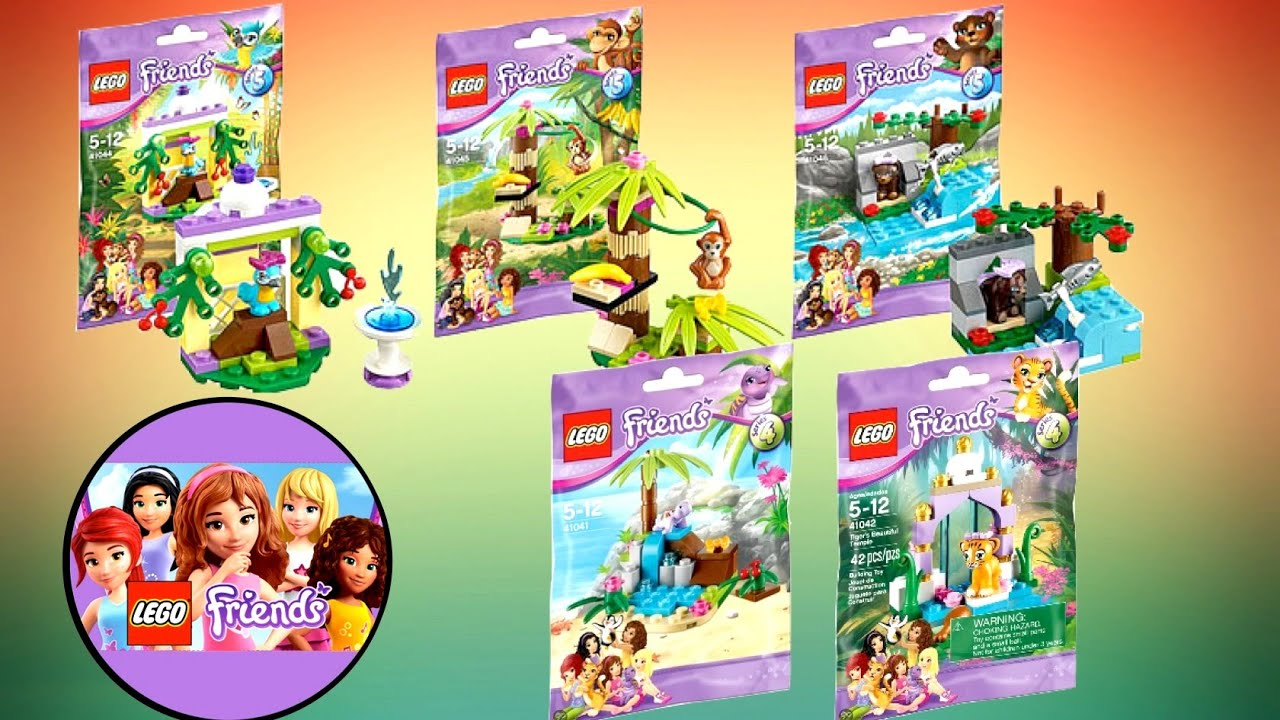 Awesome Animated Series Lego Friends Animal Series