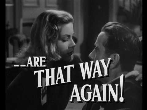 The Big Sleep trailer (1946)
