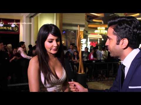 Anushka Sharma - Exclusive Interview with Kushi Media at the IIFA Awards 2013