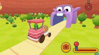 #kids #cartoon #kidsgame Kids 3D train game for kids || Kids driveing