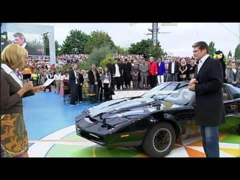Mein Knight Rider K.I.T.T. Replika mit David Hasselhoff im ZDF Fernsehgarten - www.myKITT.de