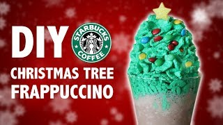 DIY CHRISTMAS TREE FRAPPUCCINO