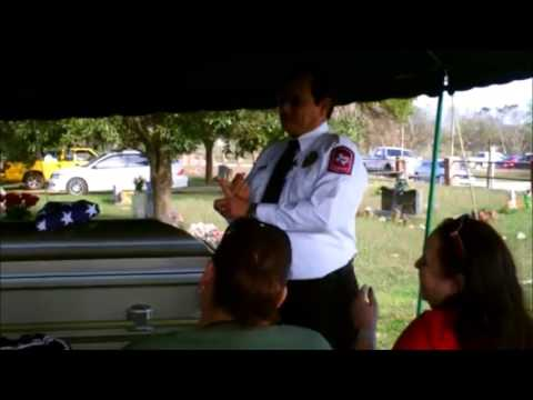Funeral of Willacy County FEMA Liason - Robert William Supulver