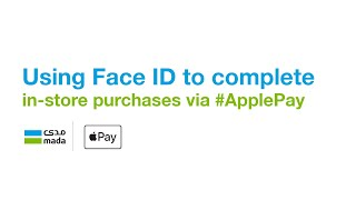 Using Face ID to complete in-store purchases via #ApplePay.