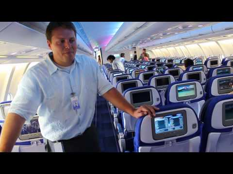 Hawaiian Airlines' new Airbus A330 on-demand entertainment system