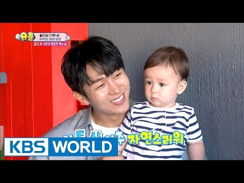 William Visits The Nostalgic Cafe After Getting His First Haircut(With.Lim SeulOng)[TROS/2017.10.08]