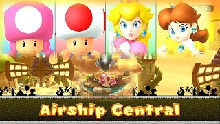 Mario Party 10 Airship Central ◆Toadette vs Toad vs Peach vs Daisy #4