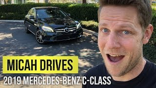 The Mercedes-Benz C-Class is classy AF