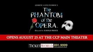 The Phantom Of The Opera - Cast Invites!
