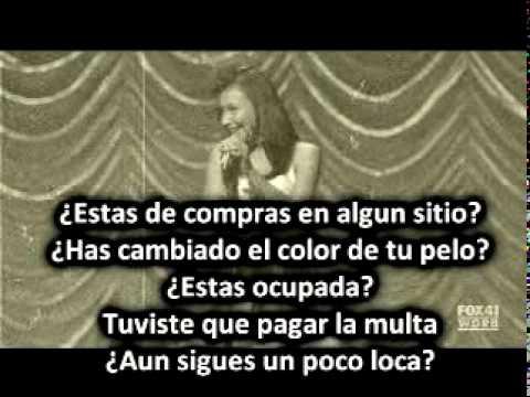 Glee - Valerie (spanish) Santana