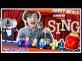 SING Movie McDonalds Happy Meal Toys 2016 - Toys for Kids - PiercesWorld