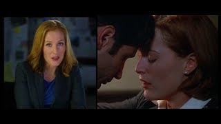 David Duchovny & Gillian Anderson - Fight The Future deleted kiss commentaries (fanvideo)