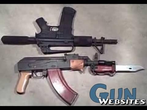 AK47 Pistol vs. AR15 Pistol Video