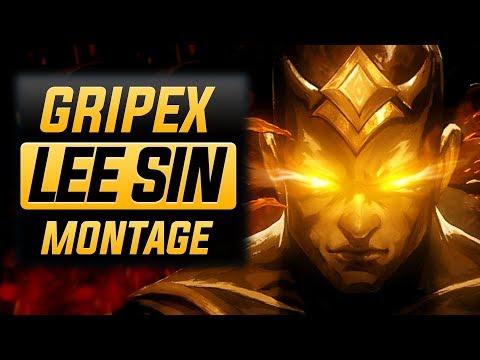 "Gripex ""Lee Sin Main"" Montage (Best Lee Sin Plays) | League Of Legends"