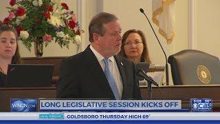 Legislature kicks off new session