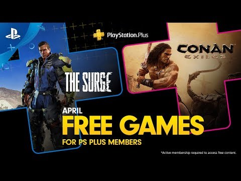 PlayStation Plus - Free Games Lineup April 2019   PS4