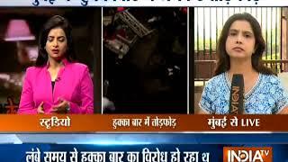 Swabhimaan Sangathan activists vandalise hookah parlour in Mumbai