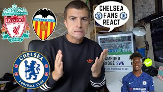CHELSEA FANS REACT WOLVES 2-5 CHELSEA || LIVERPOOL AND VALENCIA NEXT...