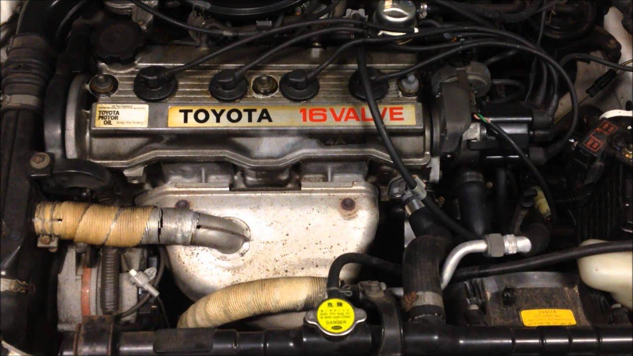1992 Toyota Corolla 90 Series 1 8 Litre 1762 Cc Motor