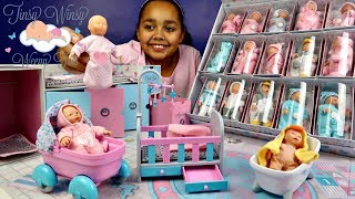 Tinsy Winsy Weeny Tots Baby Dolls Surprise Presents