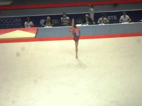 Anna Dementyeva 2011 Russian Cup FLOOR