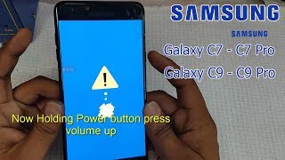 Samsung Galaxy C7 ,C9  and Galaxy C7 Pro ,C9 Pro  Hard Reset || Pattern unlock || Factory Reset