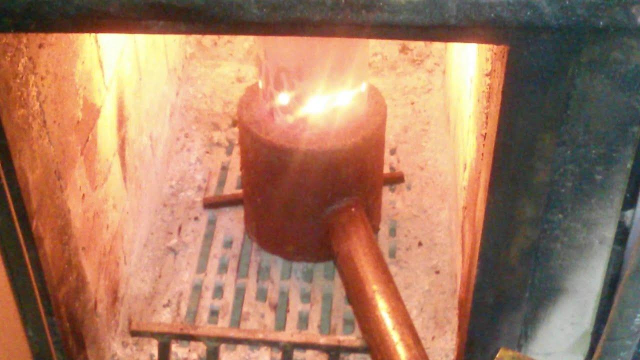 Печка своими руками на отработанным маслом