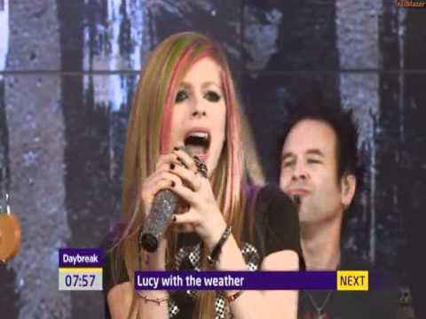 Avril Lavigne - What The Hell (live  Daybreak) video